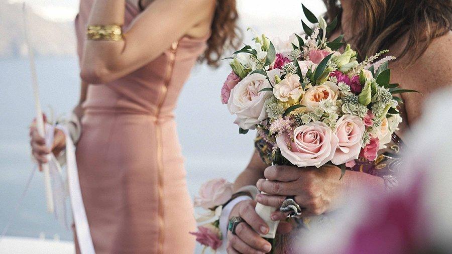 Alice & Alain βίντεο γάμου στη Σαντορίνη