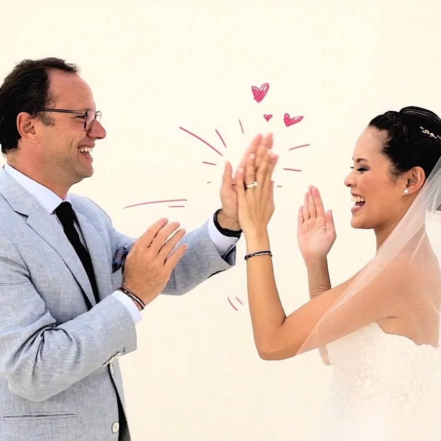 Βιντεο Γαμου Μυκονος Σάρα και Άλεξ