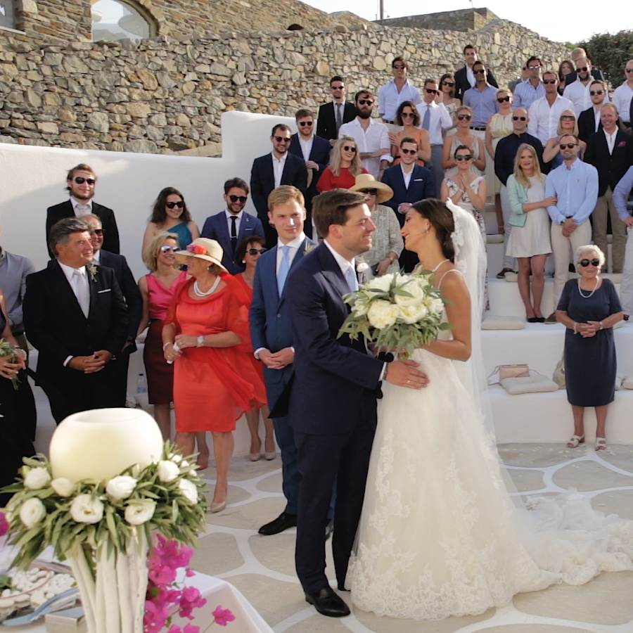 Wedding Cinematography In Mykonos Liana & Walter