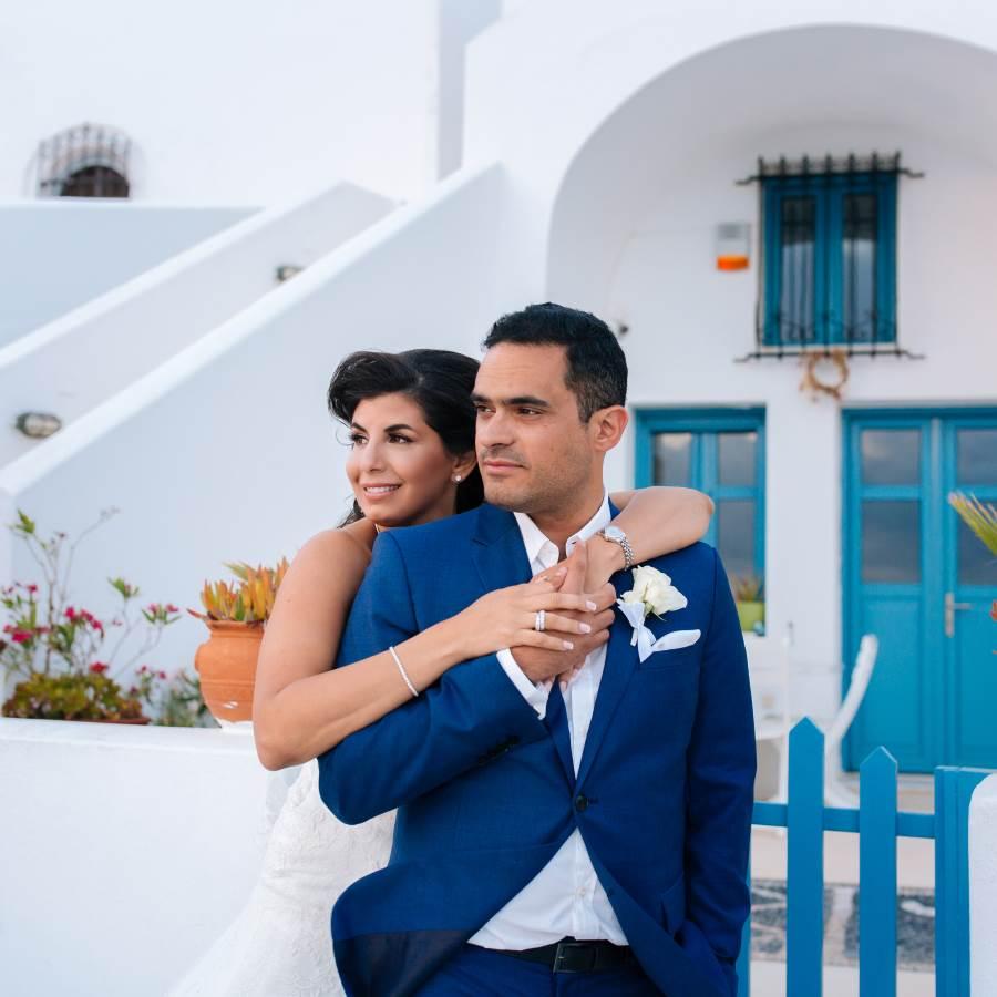 Wedding Cinematography In Santorini Natalie & Firas