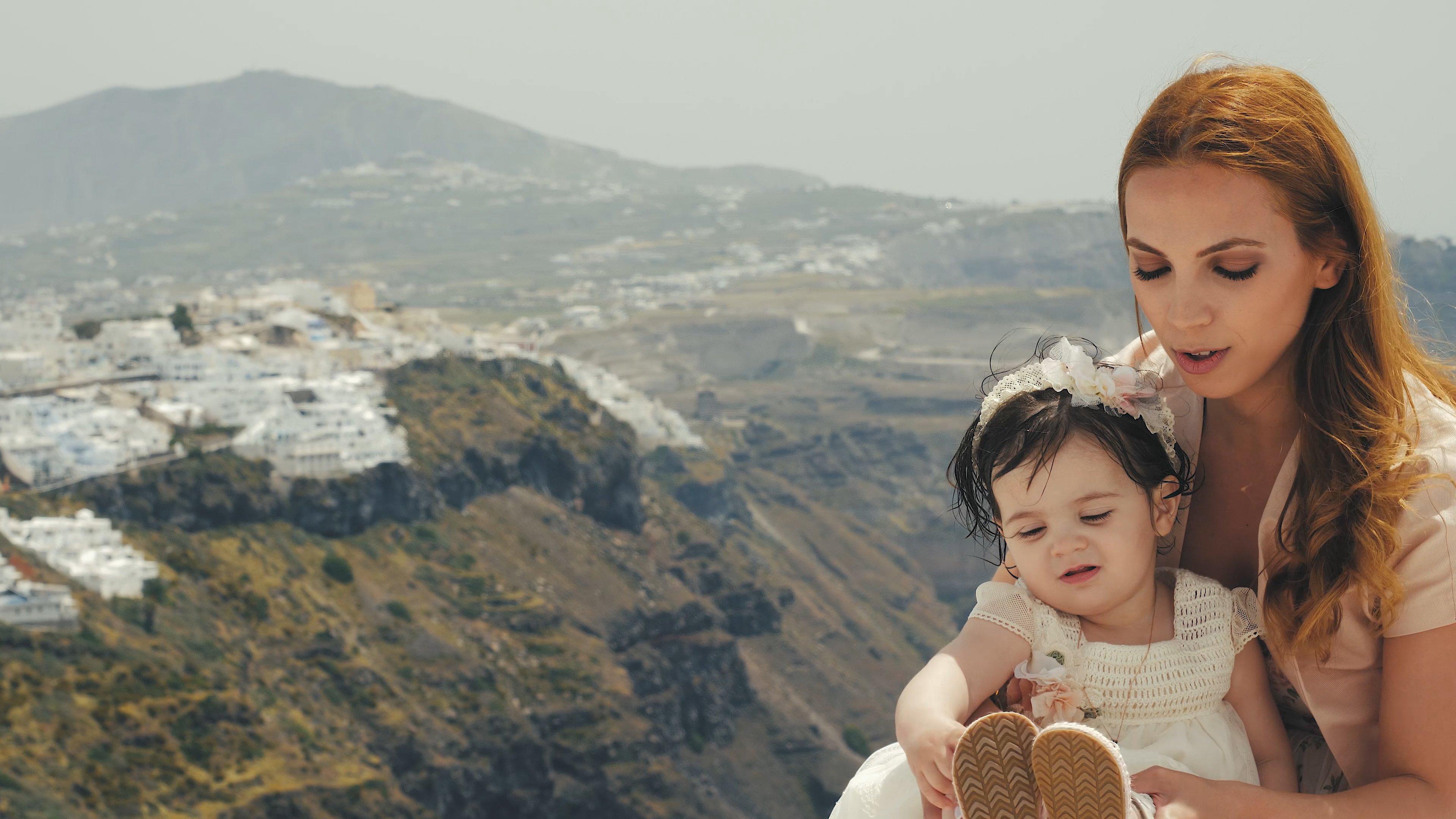 Βίντεο βάπτισης στη Σαντορίνη