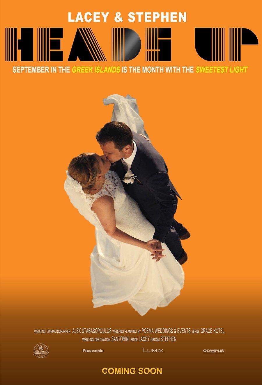 Lacey & Steve (Santorini Wedding Cinematography)